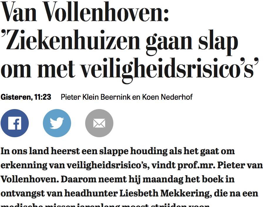 Uit De Telegraaf over boek Terug in het zadel van Liesbeth Mekkering